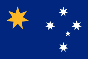 Franck Gentil's 2000 AusFlag competition winner.